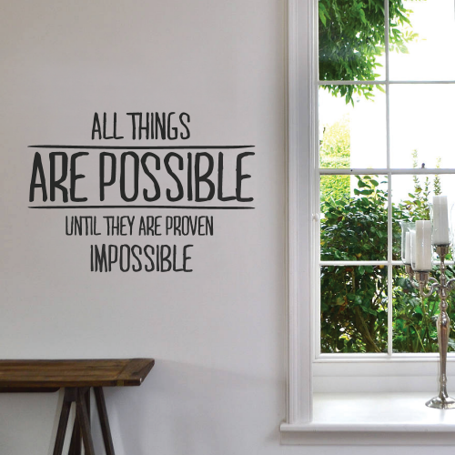 Wallboss Mail: Life Isnt About Waiting Wall Quotes Wall Sticker