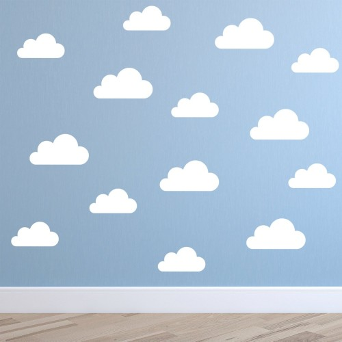 cloud wall stickers decals for kids | wall stickers | kids room decor