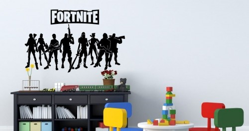 3D Fortnite wall sticker | wall stickers and decals Ireland
