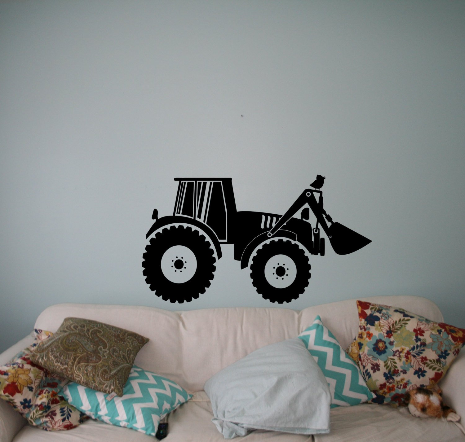 Tractor Wall Sticker For Boys Kids Wall Decor Ireland