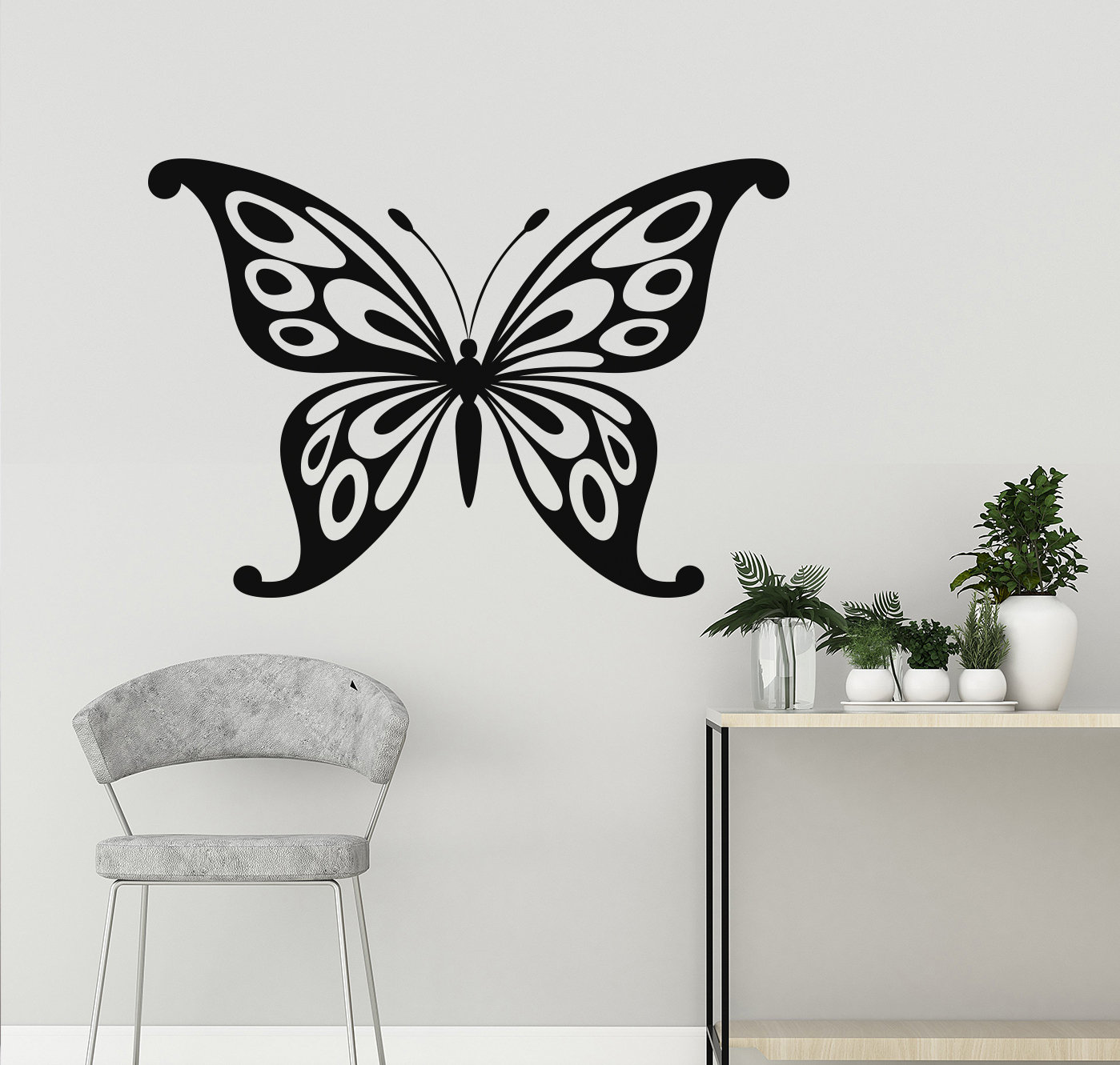 Large Butterfly wall decal | wall stickers Ireland | home ...