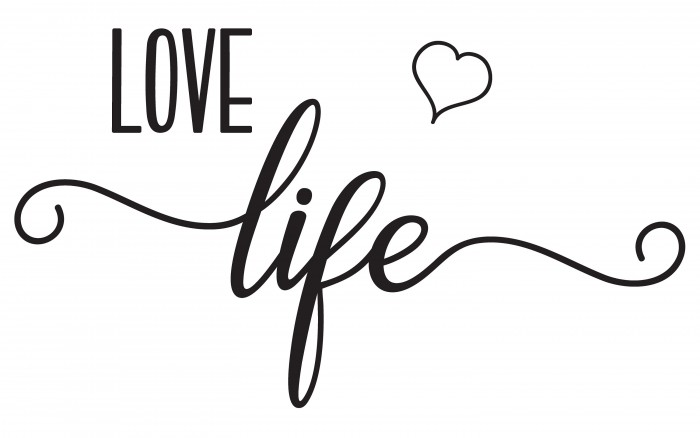 Love life wall decals