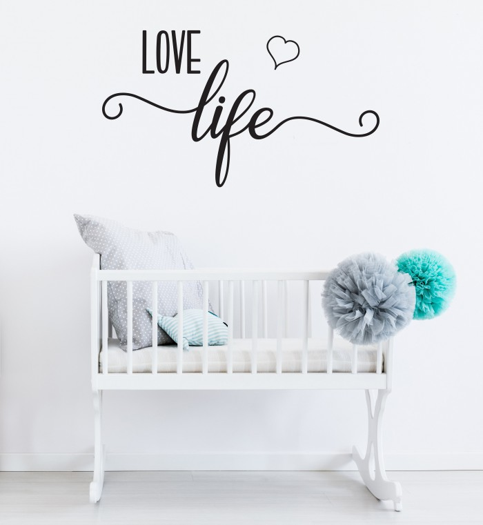 Love life sticker