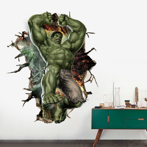 Huge Hulk Decals