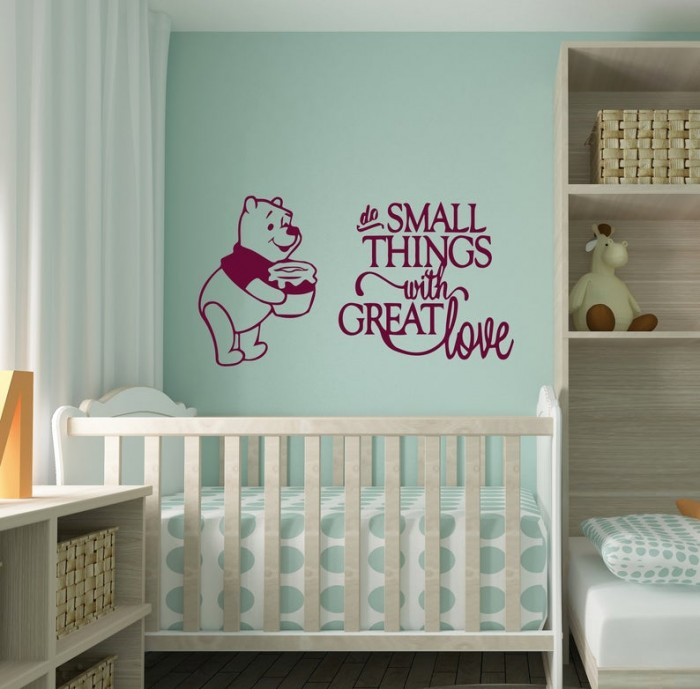 Do small things Winnie decal