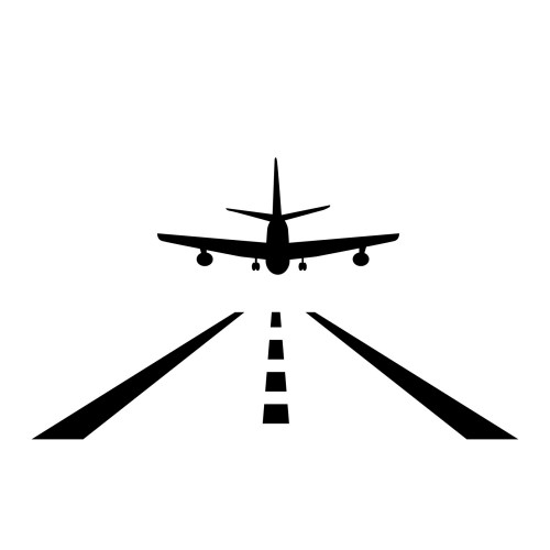 Airplane wall decals sticker