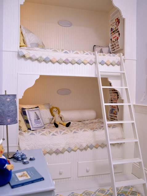 Built In Bunk Beds 1