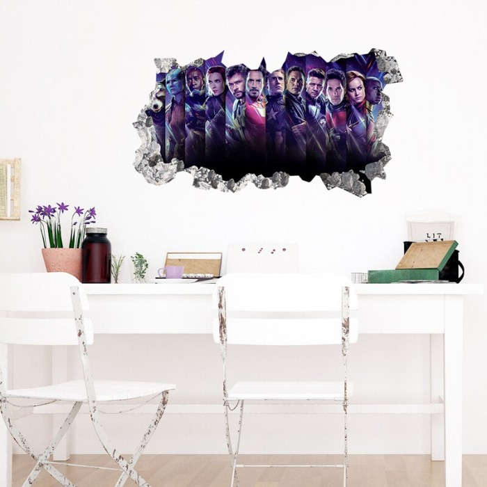 Avengers characters wall stickers