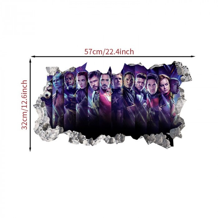 Avengers characters decals