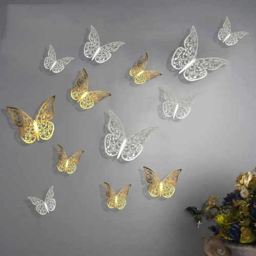 Fashin Butterflies Wall Stickers