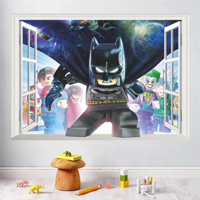 3d Lego Batman Window Decal