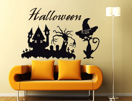 Best Halloween Wall Decals Themes You Will Love this Season!