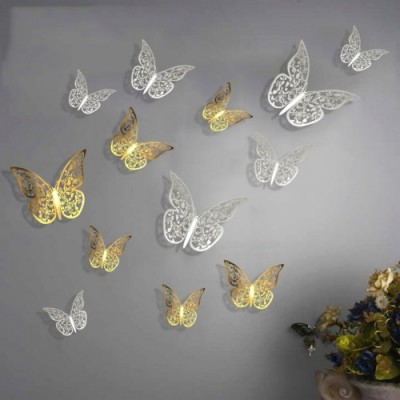 Fashin Butterflies Wall Stickers 500x500