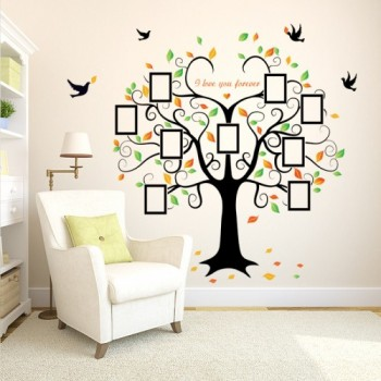 Photo Frame Tree Wall Stickers 500x500