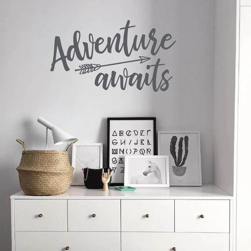Arrow With Adventure Awaits Quotes Wall Decal 2 1024x1024