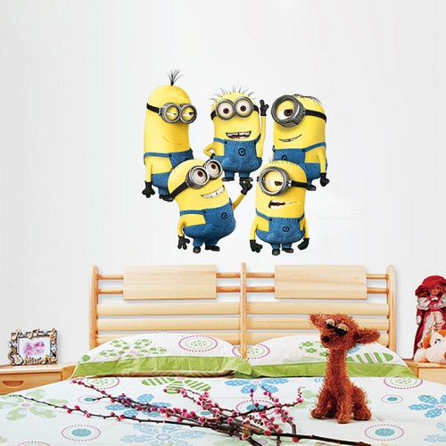 Minions Despicable Wall Sticker Decals