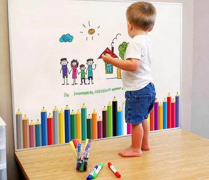 colours wall stickers For Kids