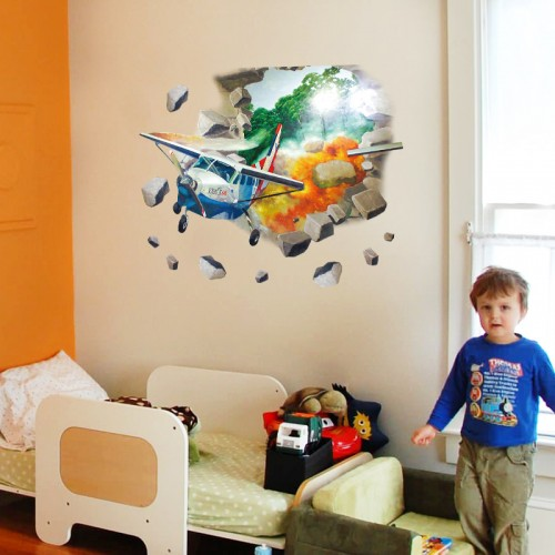Airplane Wall Stickers For kids