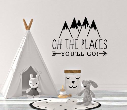 Oh, the places you'll go decals